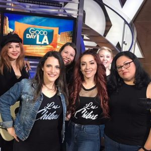 Las Chikas Black T Shirt